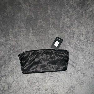 Fashion nova rub satin tube top